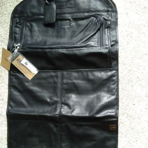 NWT  Canyon Outback Fold Over Leather Garment Bag